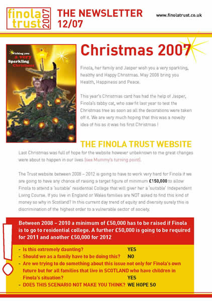 Download 2007 Newsletter