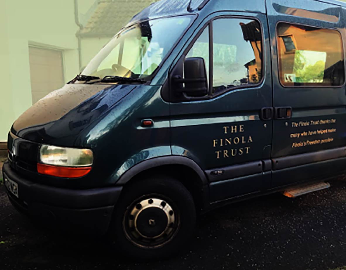 The Finola Trust Van is in its final year